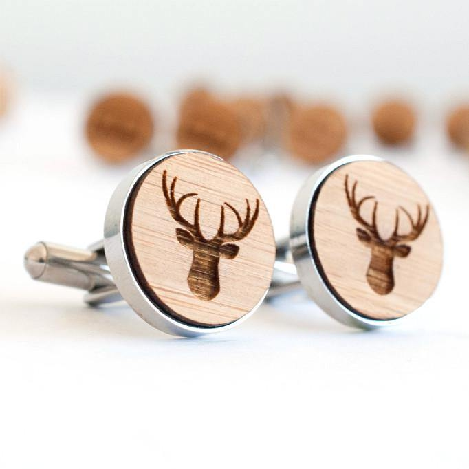 Stag cufflinks - Alexa Lane