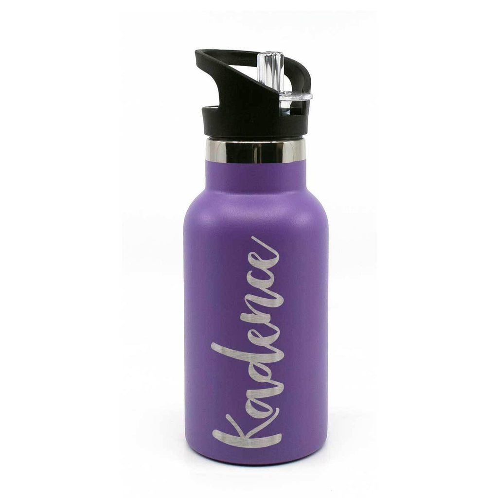 Drink Bottle Personalised 350mL flip lid