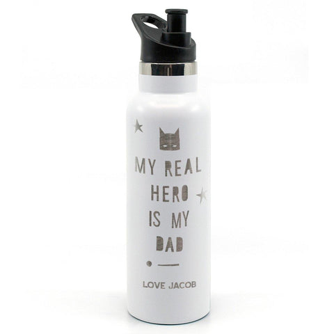 Father's Day Drink Bottle Personalised 750mL