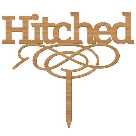 Cake Topper Hitched - Alexa Lane