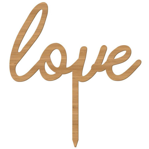 Cake Topper love script - Alexa Lane