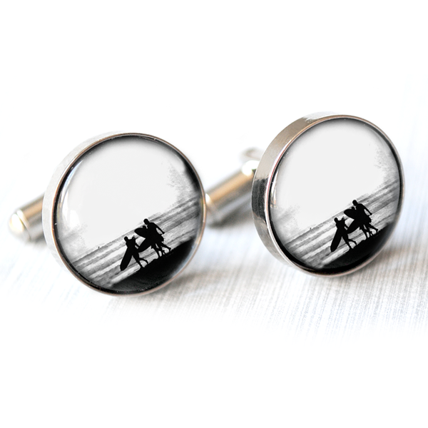 Surfer Cufflinks - Alexa Lane