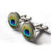 Peacock Cufflinks - Alexa Lane