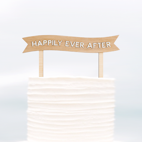 Cake Topper Happily Ever After - Alexa Lane