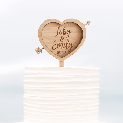 Cake Topper Bride and Groom - Alexa Lane