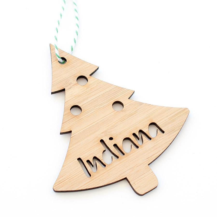 Christmas Decoration - select your design. Bauble, Tree or Star. - Alexa Lane