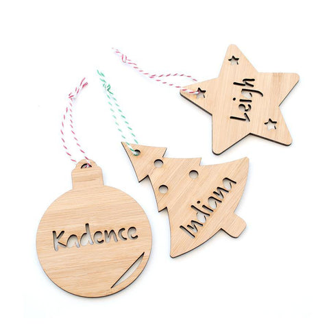 3 Pack Christmas Decorations
