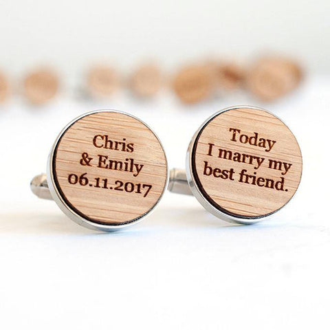 Groom cufflinks - Alexa Lane