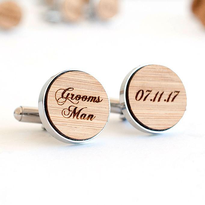 Groomsman cufflinks - Alexa Lane