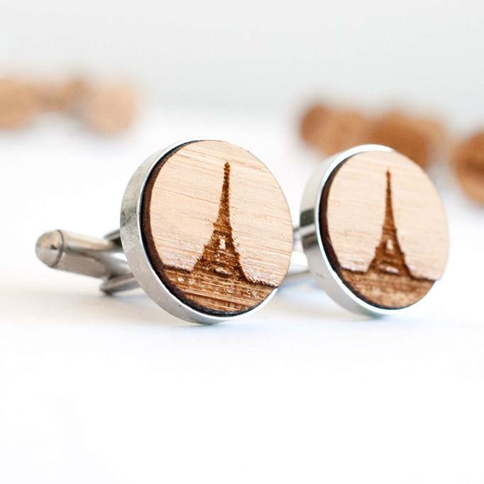 Eiffel Tower cufflinks - Alexa Lane