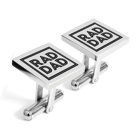 Rad Dad cufflinks - Alexa Lane