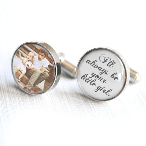 Father of the Bride Wedding Cufflinks - Alexa Lane