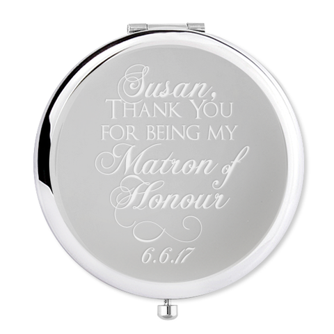 Matron of Honour Compact Mirror - Alexa Lane