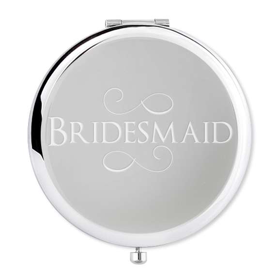 Compact Mirror Bridesmaid Gift - Alexa Lane