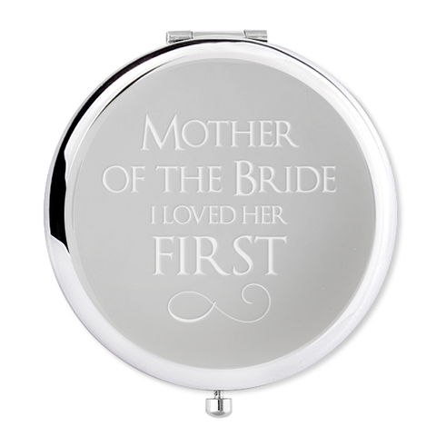 Compact Mirror for the Mother of the bride - Alexa Lane