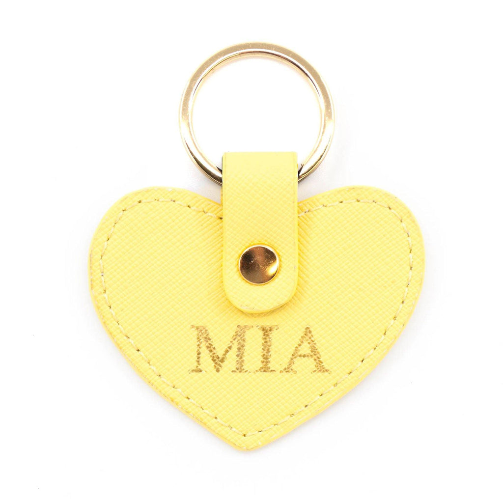 Yellow keyring