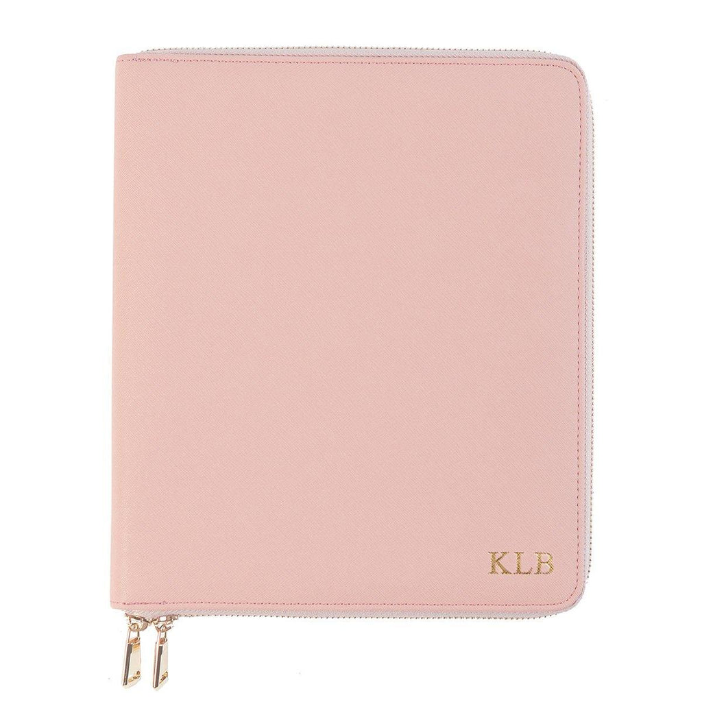 Pink Zippered Compendium - Alexa Lane