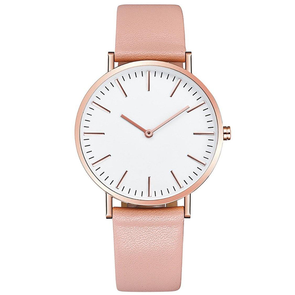 Engraved personalised rose gold watch - Alexa Lane
