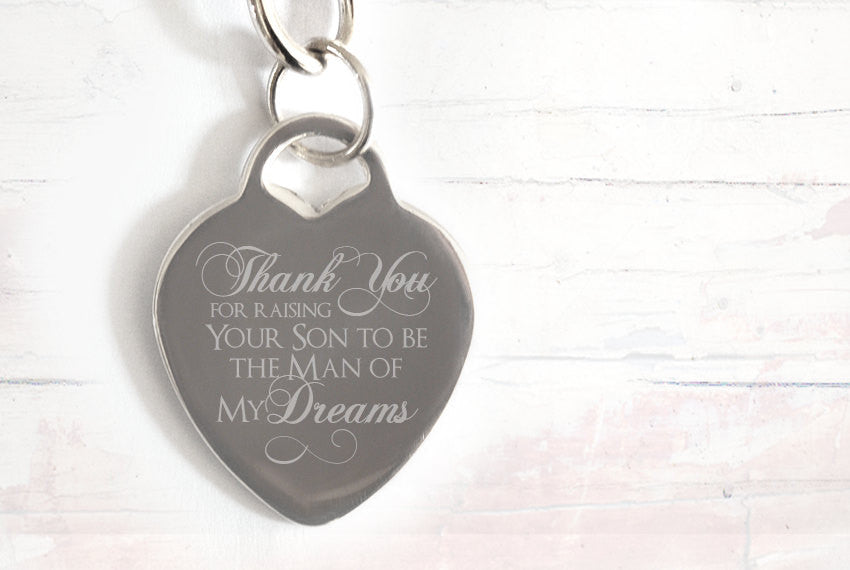 Mother of the Groom engraved necklace - Alexa Lane