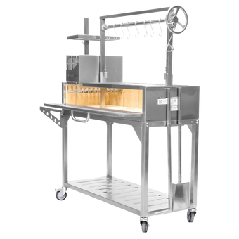 Fully Featured Santa Maria Grill   Argentine Grill   Stainless Steel   BBQ03SS