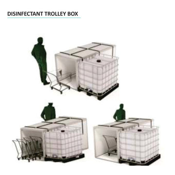 Disinfectant Trolley Box