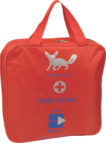 First Aid Office Kit - Canvas Bag