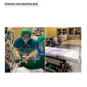 Intubation Box Perspex