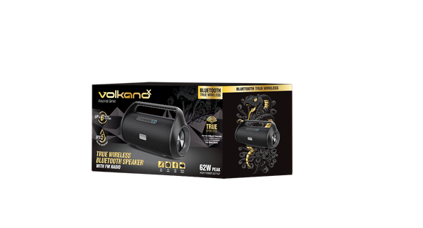Volkano True Wireless Stereo Bluetooth Speaker With FM Radio