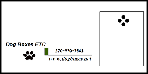 Contact for more information on custom made Hunting Dog Boxes