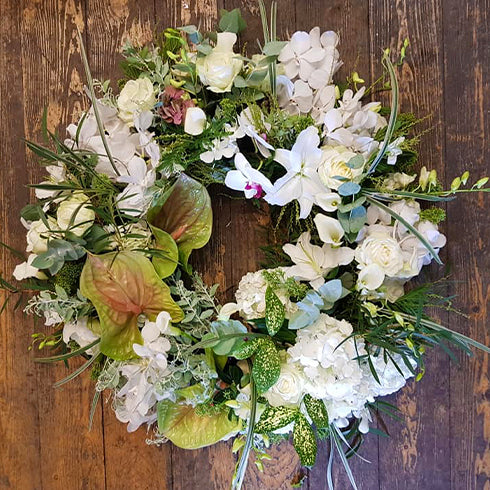 Natural Wreath Tribute