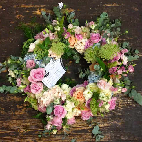 Pretty Wreath Funeral Tribute