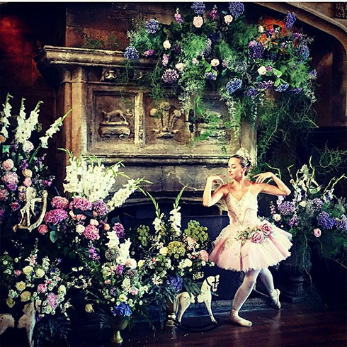 Ballet and Flowers Photoshoot