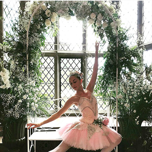 Floral Arch and Ballerina