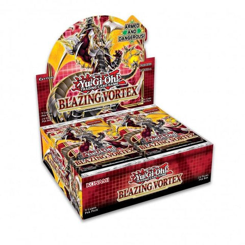 Blazing Vortex Booster Case (12 Boxes) 02/05