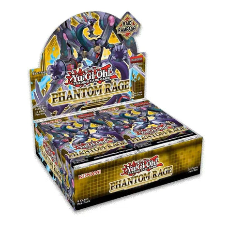 Yu-Gi-Oh! Phantom Rage Booster Case (12 Boxes) Pre-Sale 11/06/20