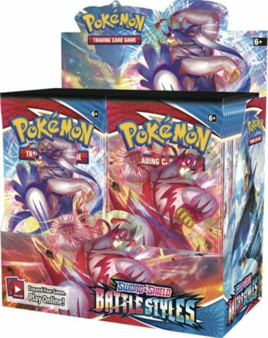 Pokemon: SS5 Battle Style Booster Box 3/19