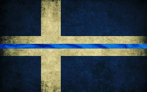 Vad symboliserar Thin Blue Line?
