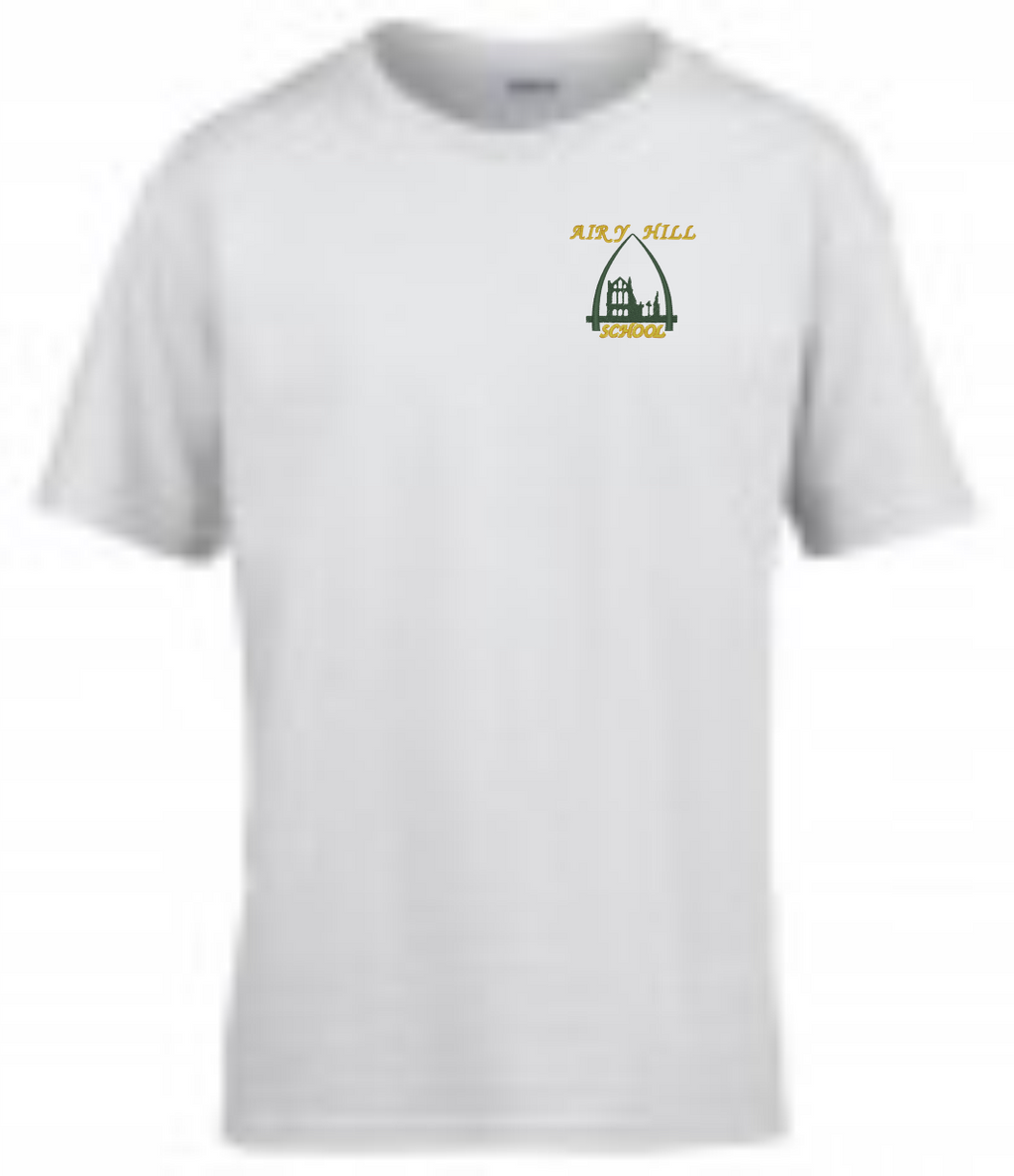 Airy Hill White PE T-Shirt