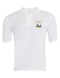 Airy Hill Polo - White