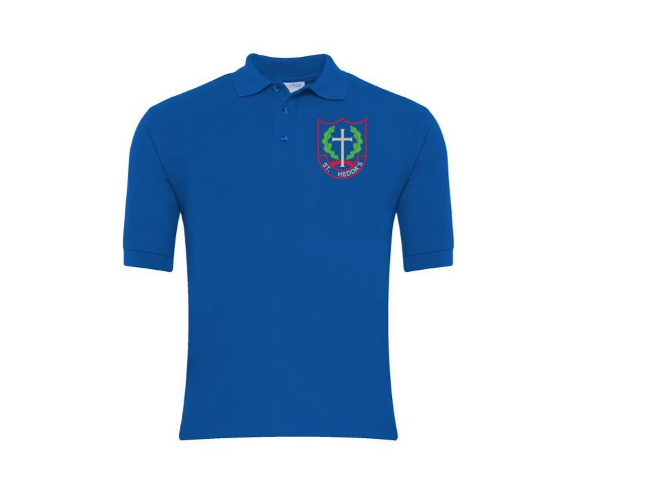 St Hedda's Polo - Royal Blue