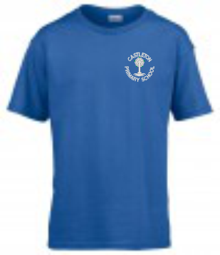 Castleton Blue PE T-Shirt