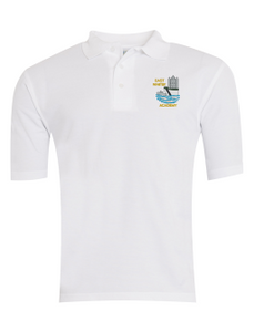 East Whitby Academy Polo - White