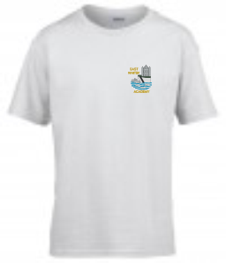 East Whitby Academy White PE T-Shirt