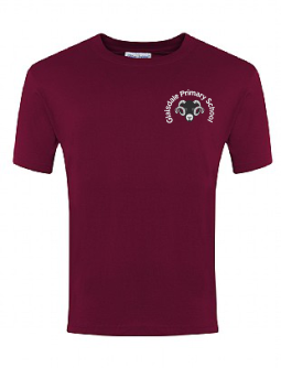 Glaisdale Maroon PE T-Shirt