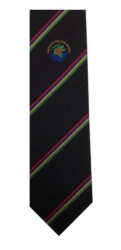 Caedmon College Whitby Clip on tie