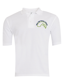 West Cliff Polo - White