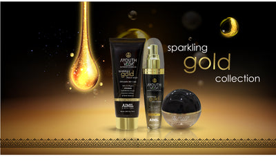 Unleash The Skin Care Benefits of GOLD