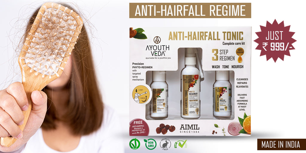 Ayouthveda Anti Hair Fall Care Combo Kit