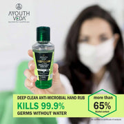 Deep Clean FF Wash Anti-microbial Hand Rub (Pack of 15) 50ml Each - Ayouthveda