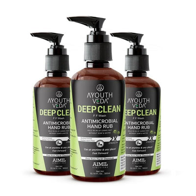 Deep Clean FF Wash Hand Rub (3 Pcs) 300ml each